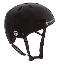 Punisher Premium Black Youth Skateboard Helmet