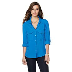 Samantha Brown Button Down Shirt