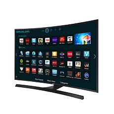 "Samsung 65"" 4K Ultra-HD Curved TV with 6' HDMI Cable"