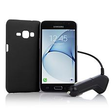 "Samsung Galaxy Luna 4.5"" Super-AMOLED TracFone Bundle"