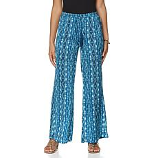 Serena Williams Tribal-Print Drawstring Pant