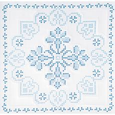 Stamped White Quilt Blocks 18-inch x 18-inch 6-pack