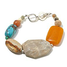 Studio Barse Multigemstone Toggle Bracelet