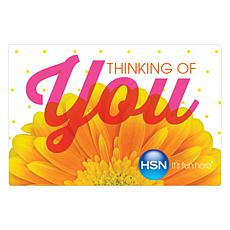 Thinking of You $25.00 HSN Gift Card