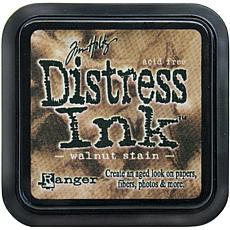 Tim Holtz Distress Ink Stamp Pad - Walnut Stain