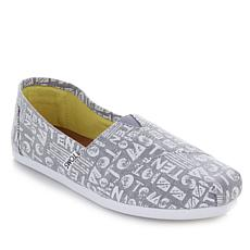 TOMS 10th Anniversary Classic Chambray Slip-on - Womens