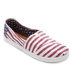 TOMS Americana Classic Canvas Slip On-Youth