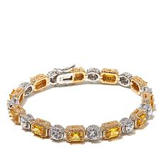 Victoria Wieck 12.91ctw Princess-Cut Absolute™ Bracelet