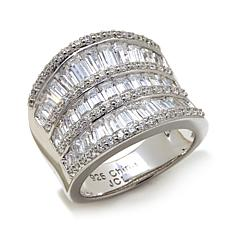 Victoria Wieck 3.41ctw Absolute™  Baguette Band Ring