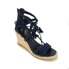 "Vince Camuto ""Tannon"" Suede Tassel Wedge Espadrille"