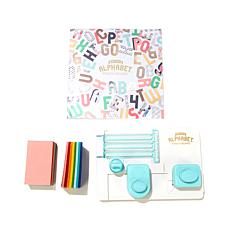 We R Memory Keepers Mini Alphabet Punchboard Kit