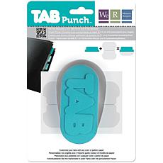 "We R Memory Keepers Tab Punch - 2"" File"