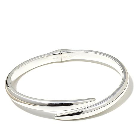Sevilla Silver™ Slip-On Bangle-Style Bypass Bracelet