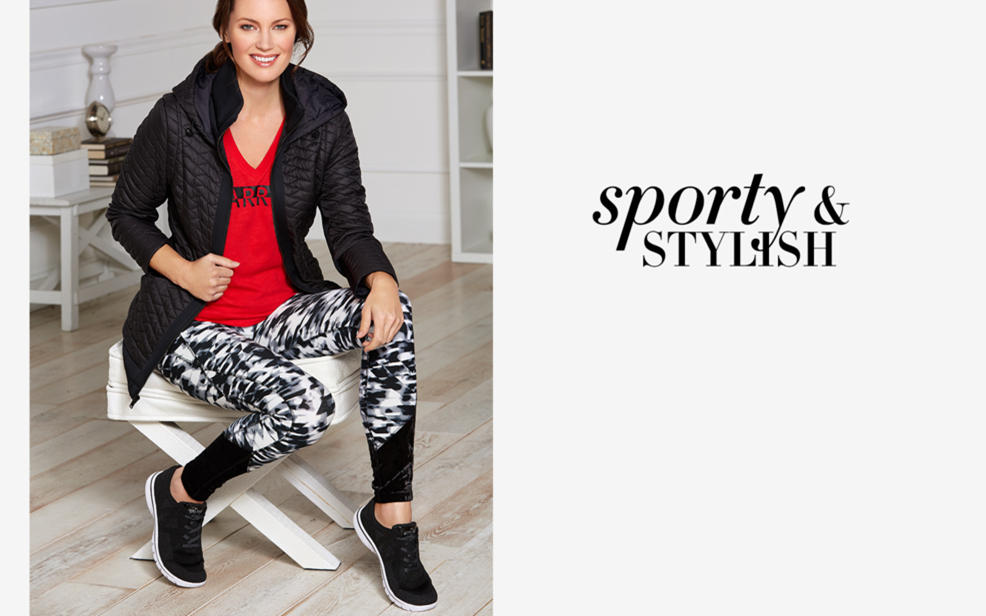 sporty & stylish