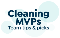 cleaning mvps. Team Tips and tricks