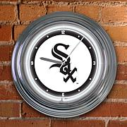 "15"" Neon Team Clock - Chicago White Sox - MLB"
