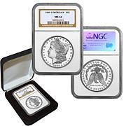 1880 MS64 NGC S-Mint Morgan Silver Dollar