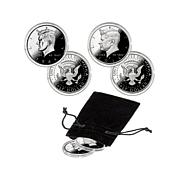 1964 and 2014 P-Mint Kennedy Half Silver Proof 2pc Set