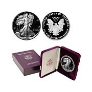 1987 S-Mint Proof Silver Eagle Dollar Coin