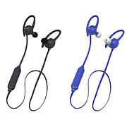 2-pack Toshiba AirFit2 Wireless Stereo Water-Resistant Earbuds Bundle