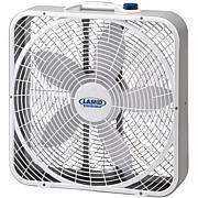 20 In. Weather-Shield Performance Box Fan in Gray/White