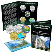 2010 Yosemite National Park 5pc Quarter Set