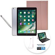 "2018 Apple iPad® 9.7"" 128GB Tablet w/Apple Pencil and Keyboard Case"