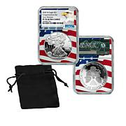 "2020 PF70 NGC ""Congratulations Early Release"" Silver Eagle Dollar Coin"