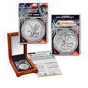 2021 MS70 ANACS LE 13,976 Type II Inaugural Silver Eagle Dollar