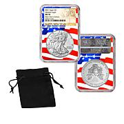 2021 MS70 NGC New Year's Edition Silver Eagle Dollar Coin - Auto-Ship®