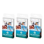 3-pack ZINK Photo Paper for HP Sprocket Photo Printers - AutoShip