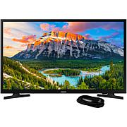 32 Inch LED Smart HDTV and 6 Foot HDMI Cable