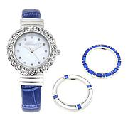 Absolute™ Interchangeable Bezel Cuff Bracelet Watch