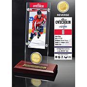 Alexander Ovechkin Ticket and Coin Desktop Acrylic