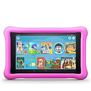 "Amazon Fire Kids 8"" HD 32GB Tablet w/ Bumper and 2-Year Warranty"