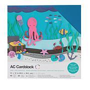 "American Crafts 12"" x 12"" Heavyweight Cardstock 60-piece"