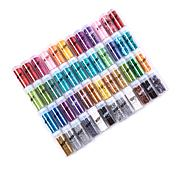 American Crafts WOW Glitter and Tinsel 48-pack