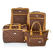 American Flyer Signature Set 4-piece Luggage Set