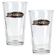 Anaheim Ducks 2pc Pint Ale Glass Set