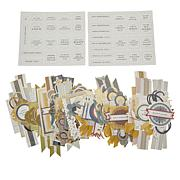 Anna Griffin® Gentlemen's Study Collage Card Toppers