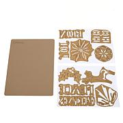 Anna Griffin® Holiday Die Set and Rubber Mat