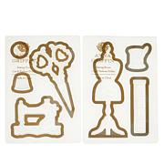 Anna Griffin® Sewing Cut and Emboss Folders Set of 2