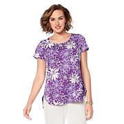"""Antthony """"Dance in Color"""" Print Top"""