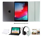 """Apple iPad® 10.2"""" Tablet with Voucher, Keyboard and Headphones"""
