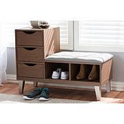 Arielle 3-Drawer Shoe Storage Seating Bench