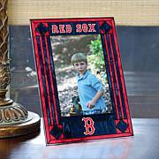 Art Glass Team Photo Frame - Boston Red Sox - MLB