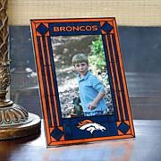 Art Glass Team Photo Frame - Denver Broncos - NFL