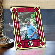 Art Glass Team Photo Frame - Florida State - College
