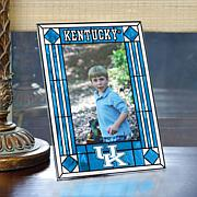 Art Glass Team Photo Frame - Kentucky - College