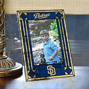 Art Glass Team Photo Frame - San Diego Padres - MLB
